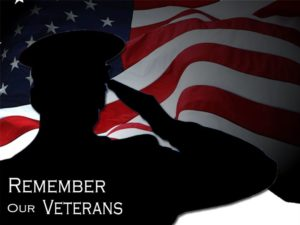 Library closed for Veterans Day