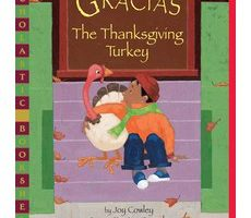 "Cover of the book ""Gracias, the Thanksgiving Turkey"""