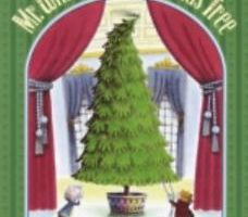 "cover art for the book ""Mister Willowby's Christmas Tree"""